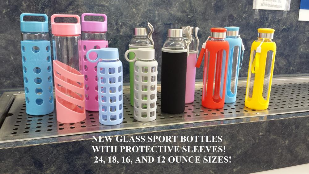 OB Water Store Glass Bottles