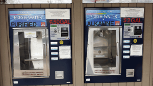 Water store in San Diego|Vending Machine Purified and Alkaline Water