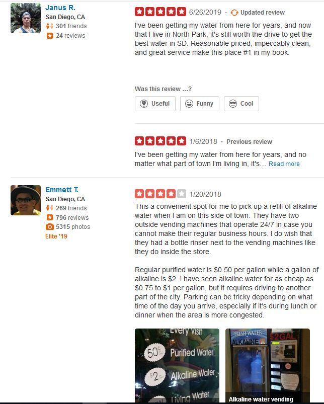 Ob Water Store Reviews